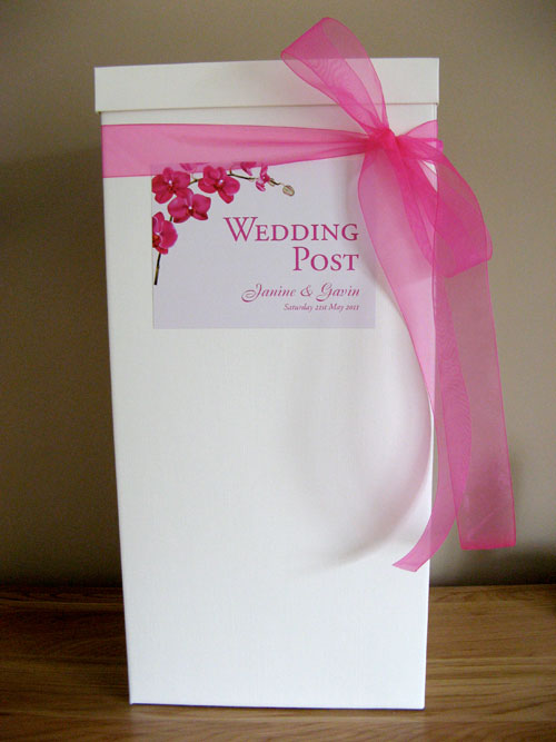 Wedding Post-Box - Bespoke Design
