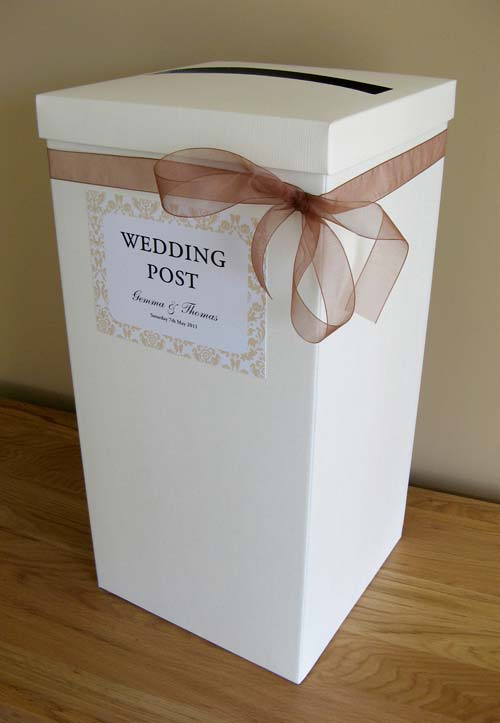 Wedding Post Box - Flockamania