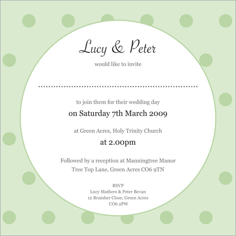 Cute Wedding Invitation Wording could be nice ideas for your invitation template
